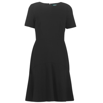 Ruhák Női Rövid ruhák Lauren Ralph Lauren BABA Fekete