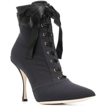 Cipők Női Bokacsizmák D&G CT0471 AZ161 nero