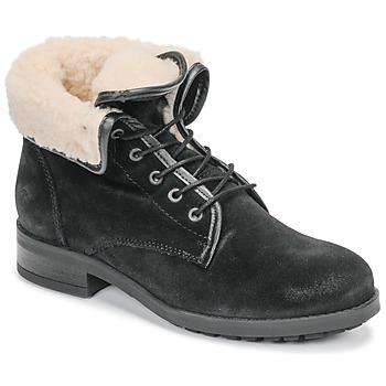 Cipők Női Csizmák Casual Attitude LEILA Fekete