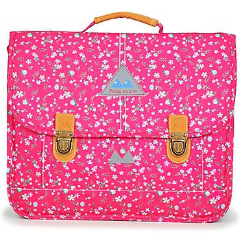 Táskák Lány Iskolatáskák Poids Plume FLEURY CARTABLE 38 CM Rózsaszín