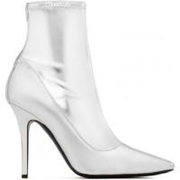 Cipők Női Városi csizmák Giuseppe Zanotti I870030 001 argento