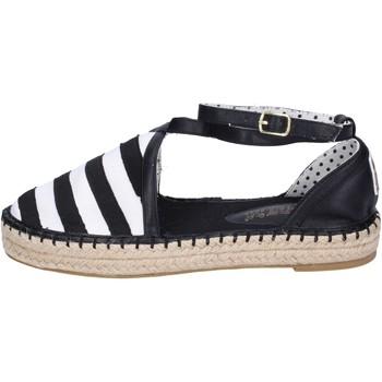 Cipők Női Gyékény talpú cipők O-joo sandali tela Nero