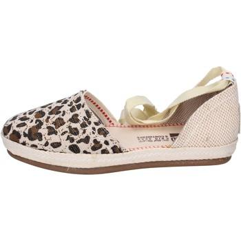 Cipők Női Gyékény talpú cipők O-joo sandali tela Beige