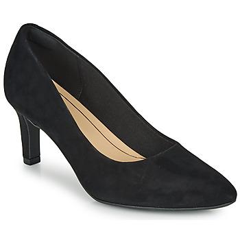 Cipők Női Félcipők Clarks CALLA ROSE Fekete