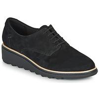 Cipők Női Oxford cipők Clarks SHARON NOEL Fekete