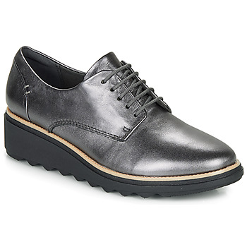 Cipők Női Oxford cipők Clarks SHARON NOEL Ezüst