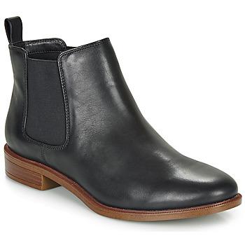 Cipők Női Csizmák Clarks TAYLOR SHINE Fekete