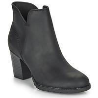 Cipők Női Bokacsizmák Clarks VERONA TRISH Fekete