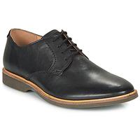 Cipők Férfi Oxford cipők Clarks ATTICUS LACE Fekete