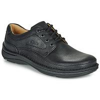 Cipők Férfi Oxford cipők Clarks NATURE THREE Fekete