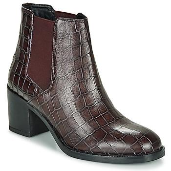 Cipők Női Bokacsizmák Clarks MASCARPONE Bordó