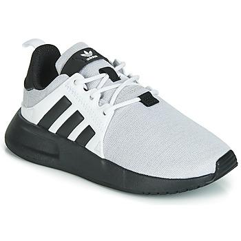 Cipők Gyerek Rövid szárú edzőcipők adidas Originals X_PLR C Szürke / Fekete