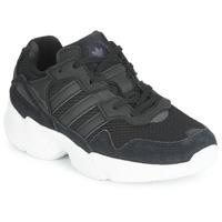 Cipők Gyerek Rövid szárú edzőcipők adidas Originals YUNG-96 C Fekete