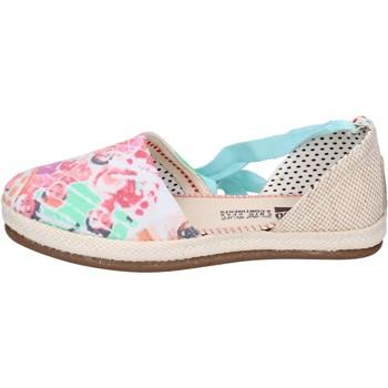 Cipők Női Gyékény talpú cipők O-joo sandali tela Multicolore
