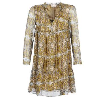 Ruhák Női Rövid ruhák Moony Mood LONI Citromsárga