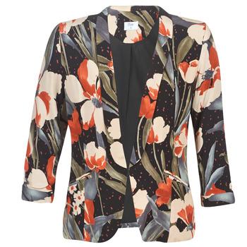 Ruhák Női Kabátok / Blézerek Betty London IOUPA Fekete  / Sokszínű