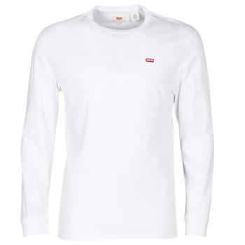 Ruhák Férfi Rövid ujjú pólók Levi's LS ORIGINAL HM TEE Fehér