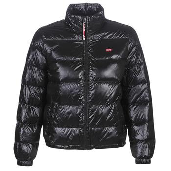 Ruhák Női Steppelt kabátok Levi's FRANCINE DOWN PCKBLE JKT Fekete