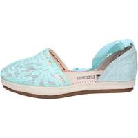 Cipők Női Gyékény talpú cipők O-joo sandali tessuto Verde
