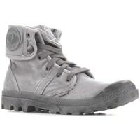 Cipők Férfi Magas szárú edzőcipők Palladium Manufacture Baggy Titanium High Rise Szürke