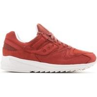 Cipők Férfi Rövid szárú edzőcipők Saucony Grid 8500 HT Piros