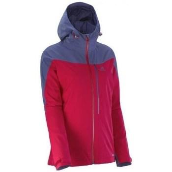 Ruhák Női Kabátok Salomon LA Cote Jkt W Lotus Czerwone,Fioletowe