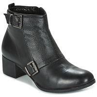 Cipők Női Bokacsizmák Andrea Conti CASTEL Fekete