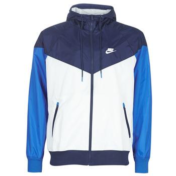 Ruhák Férfi Széldzseki Nike M NSW HE WR JKT HD Kék / Fehér