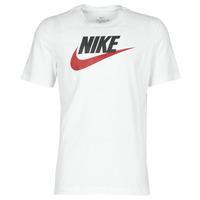 Ruhák Férfi Rövid ujjú pólók Nike M NSW TEE ICON FUTURA Fehér