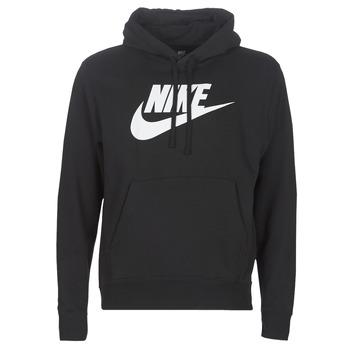 Ruhák Férfi Pulóverek Nike M NSW CLUB HOODIE PO BB GX Fekete