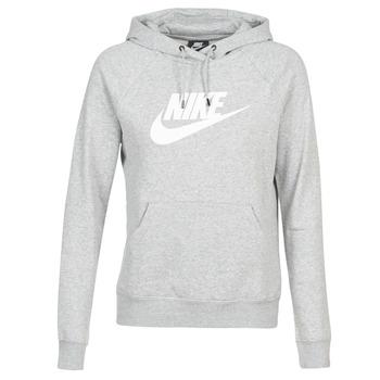 Ruhák Női Pulóverek Nike W NSW ESSNTL HOODIE PO  HBR Szürke