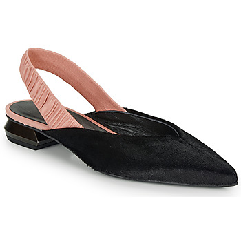 Cipők Női Balerina cipők  Heimstone SWEDES Fekete  / Rózsaszín