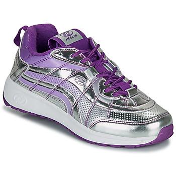 Cipők Lány Gurulós cipők Heelys NITRO Ezüst / Lila