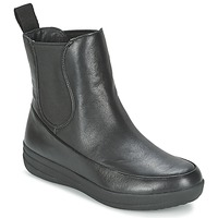 Cipők Női Csizmák FitFlop FF-LUX CHELSEA BOOT Fekete