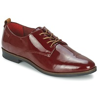 Cipők Női Oxford cipők Bugatti VICTORIA Bordó
