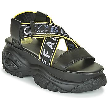 Cipők Női Szandálok / Saruk Buffalo 1501024 Fekete