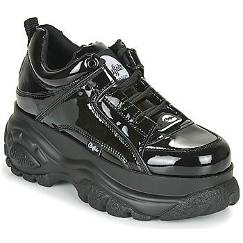 Cipők Női Rövid szárú edzőcipők Buffalo 1533043 Fekete  / Fényes