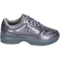 Cipők Lány Rövid szárú edzőcipők Lumberjack BR283 Ezüst