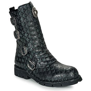 Cipők Csizmák New Rock  Fekete
