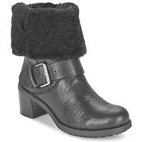 Cipők Női Csizmák Clarks PILICO PLACE Fekete