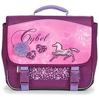 Táskák Lány Iskolatáskák Rentrée des classes CYBEL CARTABLE 38 CM Rózsaszín