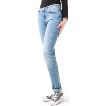 Ruhák Női Skinny farmerek Wrangler Jeansy  Slim Best Blue W28LX794O niebieski