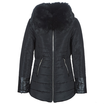 Ruhák Női Steppelt kabátok Betty London LACAMAS Fekete