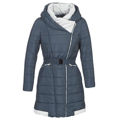 Ruhák Női Steppelt kabátok Casual Attitude LOLAPO Kék / Tengerész