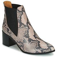 Cipők Női Bokacsizmák Emma Go GUNNAR Bézs