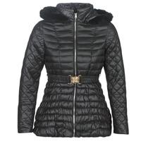 Ruhák Női Steppelt kabátok Moony Mood LESLIE Fekete
