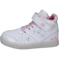 Cipők Lány Magas szárú edzőcipők Lulu BR351 Fehér