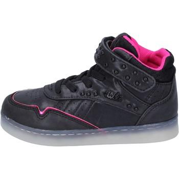 Cipők Lány Magas szárú edzőcipők Lulu BR353 Fekete
