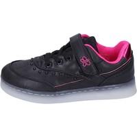 Cipők Lány Rövid szárú edzőcipők Lulu BR354 Fekete