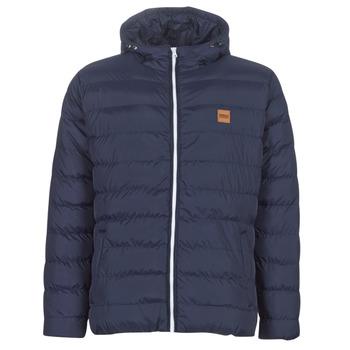 Ruhák Férfi Steppelt kabátok Urban Classics BASIC BUBBLE JACKET Tengerész